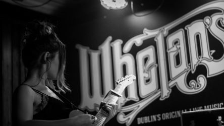 Honeyblood in Whelan's April 2017 (Photo by Stephen White) 19
