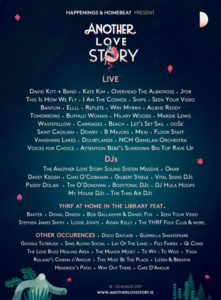 another love story 2017 line-up