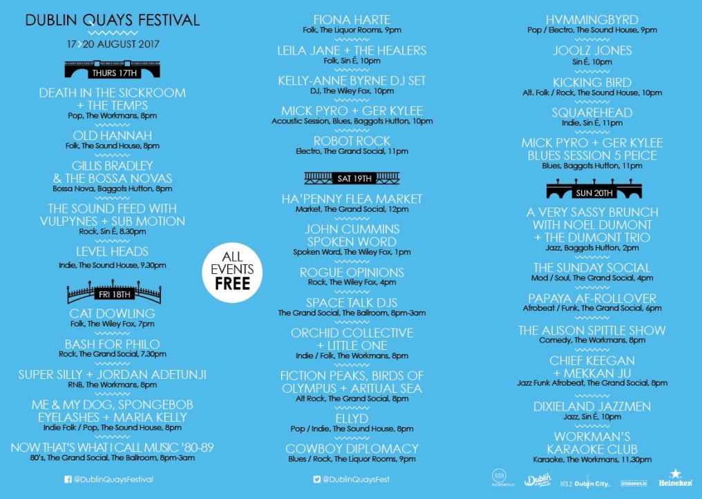 Dublin Quays Festival 2017
