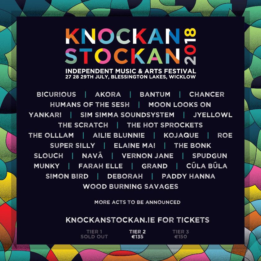 Knockanstockan 2018 line-up announced including Vernon Jane, Bicurious, Akora, Bantum & more