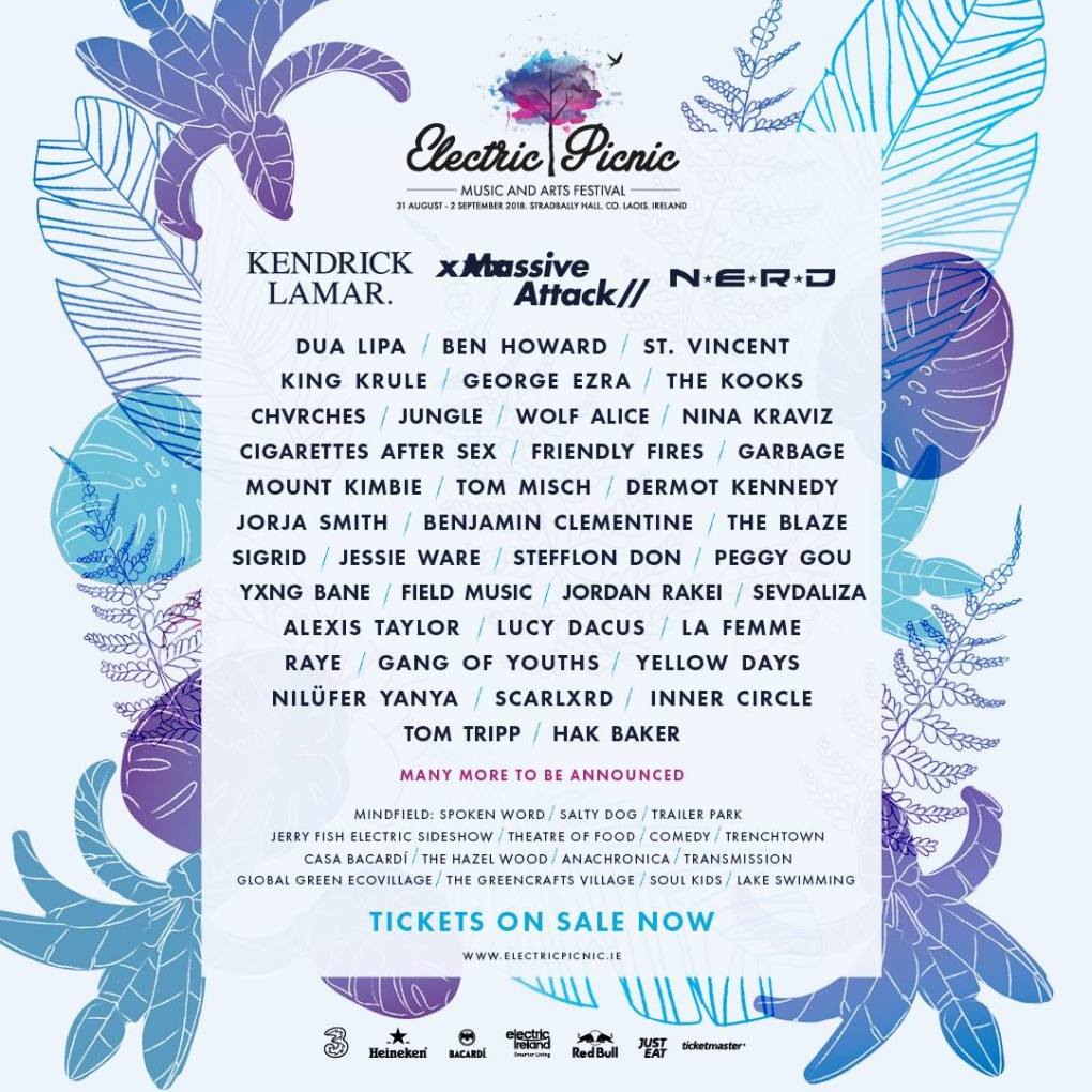 Electric Picnic 2018 line up