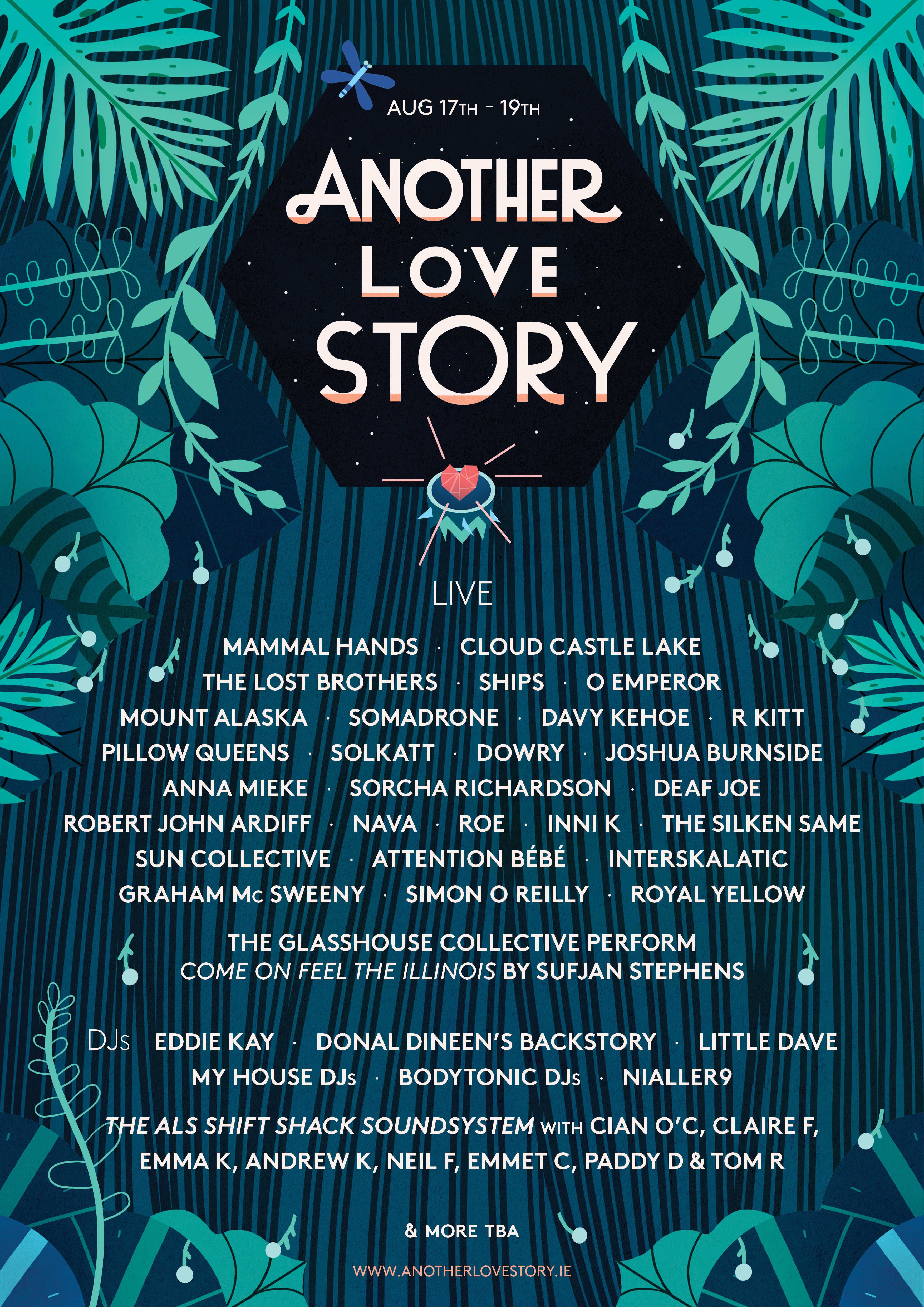 Another Love Story 2018 line-up announced including Ships, Cloud Castle Lake, Sorcha Richardson & more