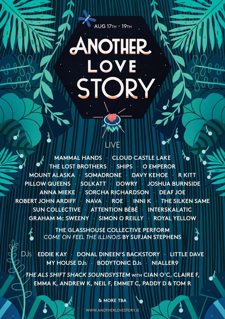 ALS lineup poster 2018