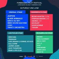 Forbidden Fruit 2018 stage line up breakdowns
