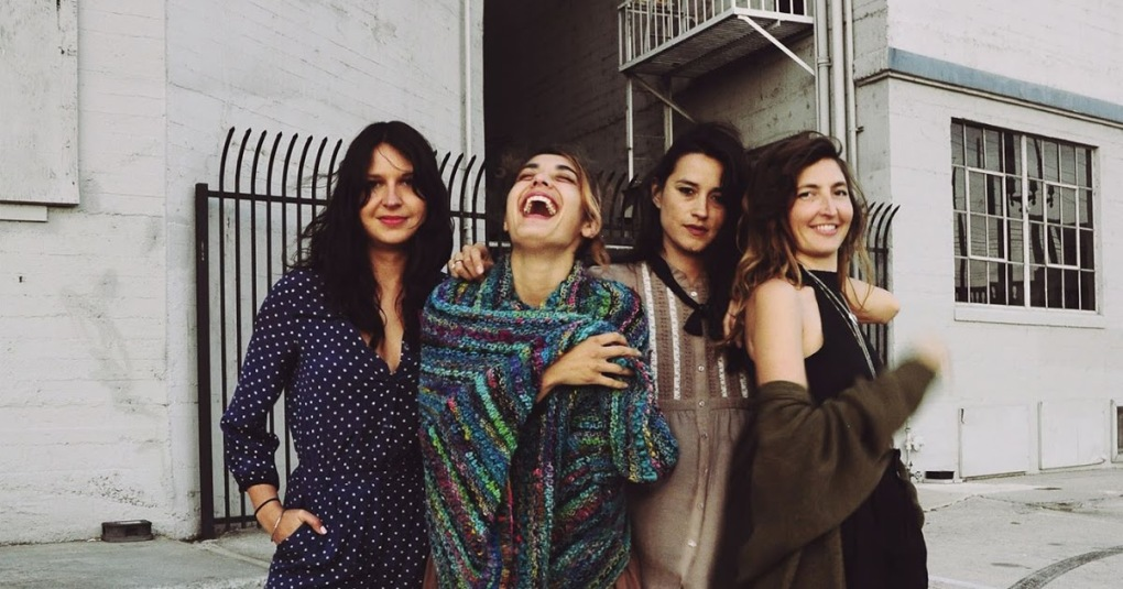warpaint laughing