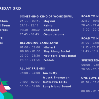 All Together Now 2018 stage times announced