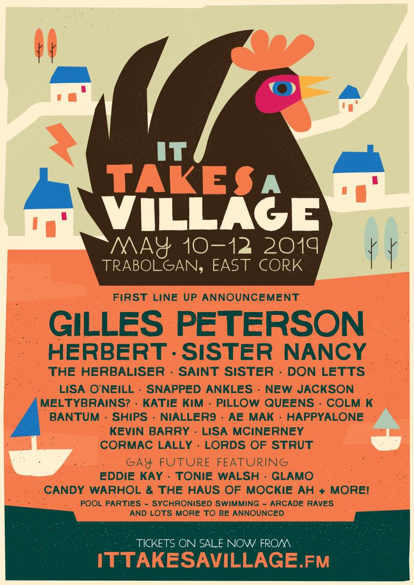 It Takes A Village 2019 | Saint Sister, Katie Kim, Pillow Queens & more announced