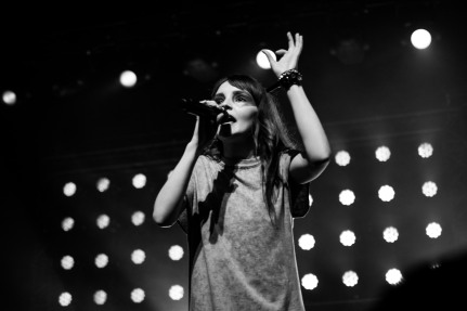 chvrches lauren mayberry olympia theatre photo by stephen white tlmt 30