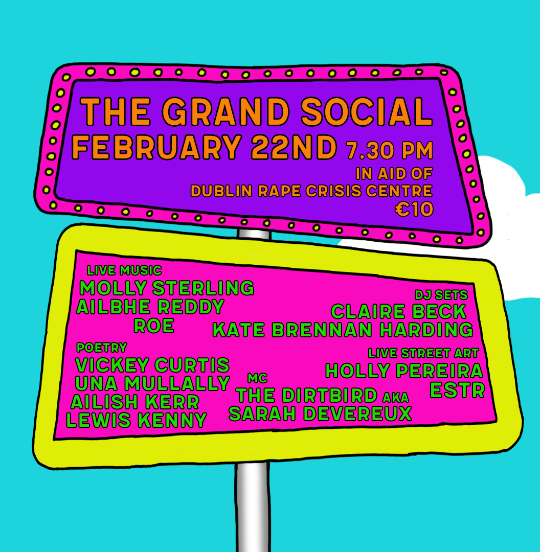 Consent Fest set for the Grand Social featuring DJ Sets, poetry & live music including Ailbhe Reddy, ROE, Molly Sterling & more