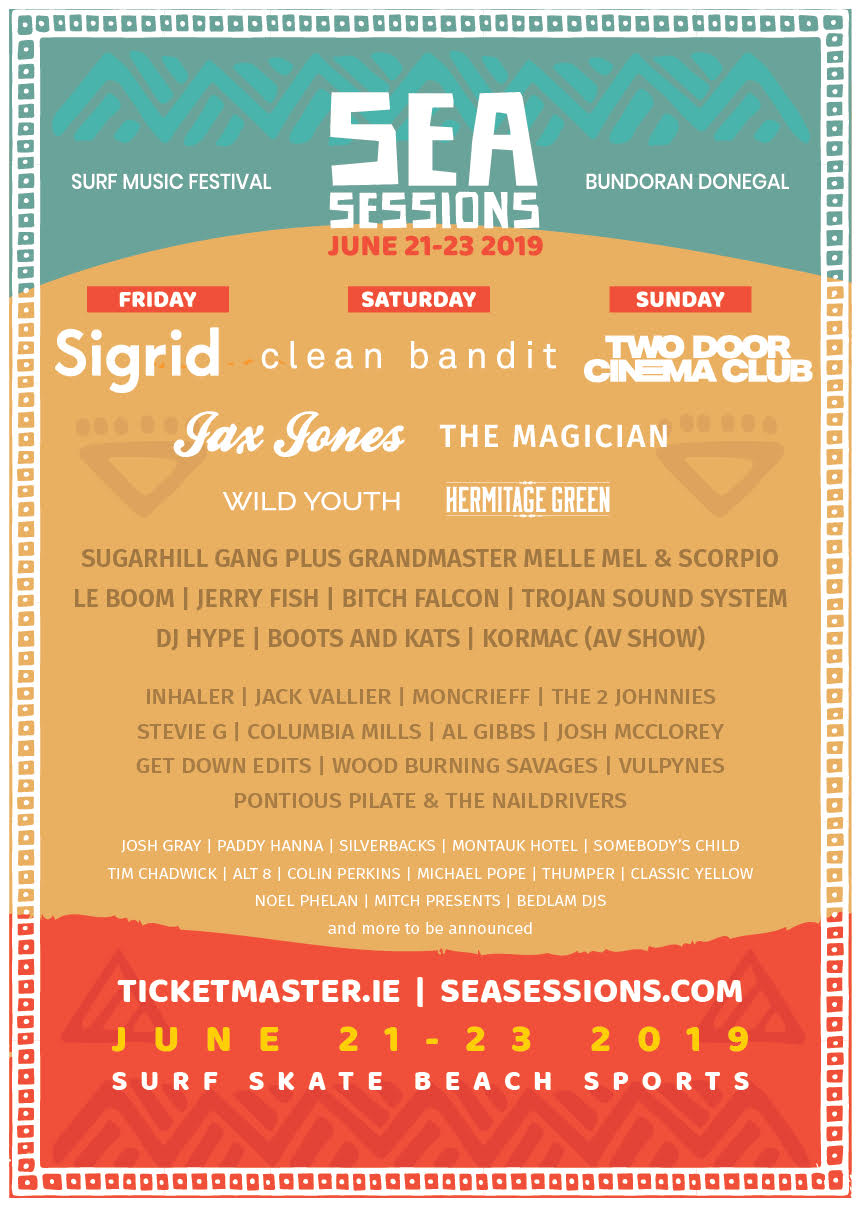 Sea Sessions 2019 | Wild Youth, Le Boom, Paddy Hanna & more join festival line-up