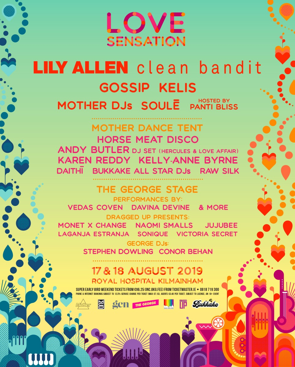 Lily Allen, Gossip & more announced for Love Sensation