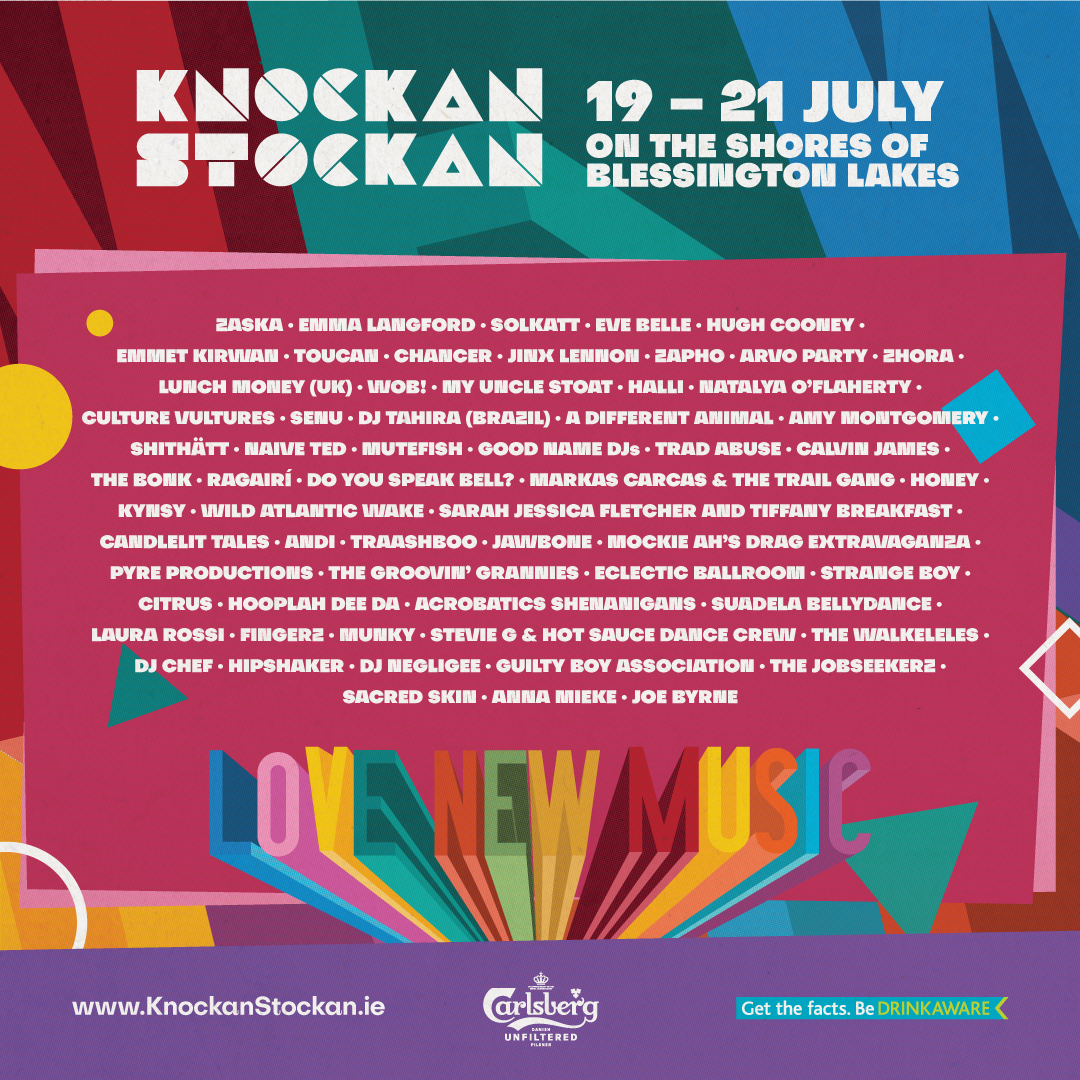 Knockanstockan 2019 full line-up announced