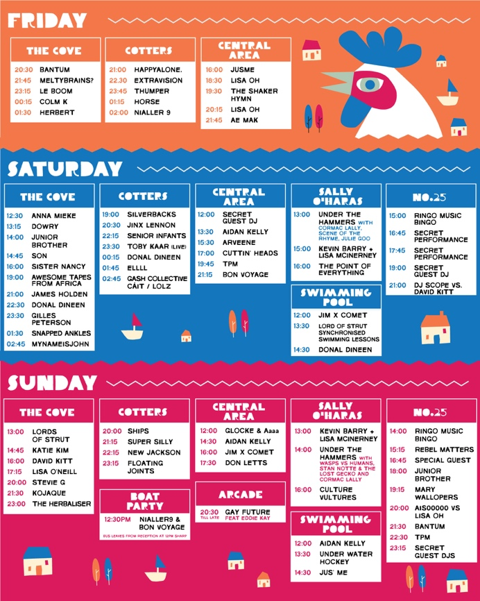 it takes a village 2019 stage times