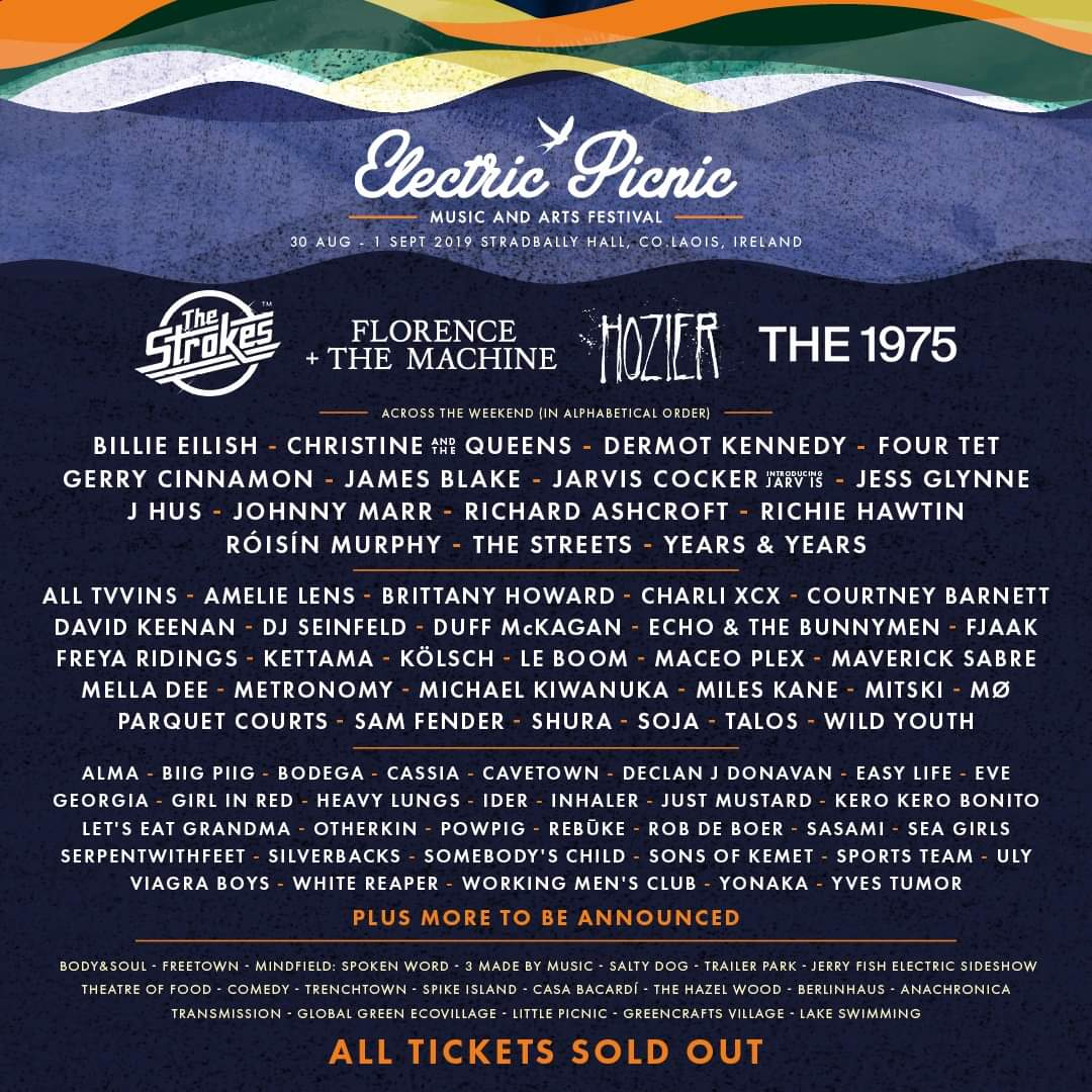Electric  Picnic 2019 adds Charli XCX, Johnny Marr, Just Mustard & more