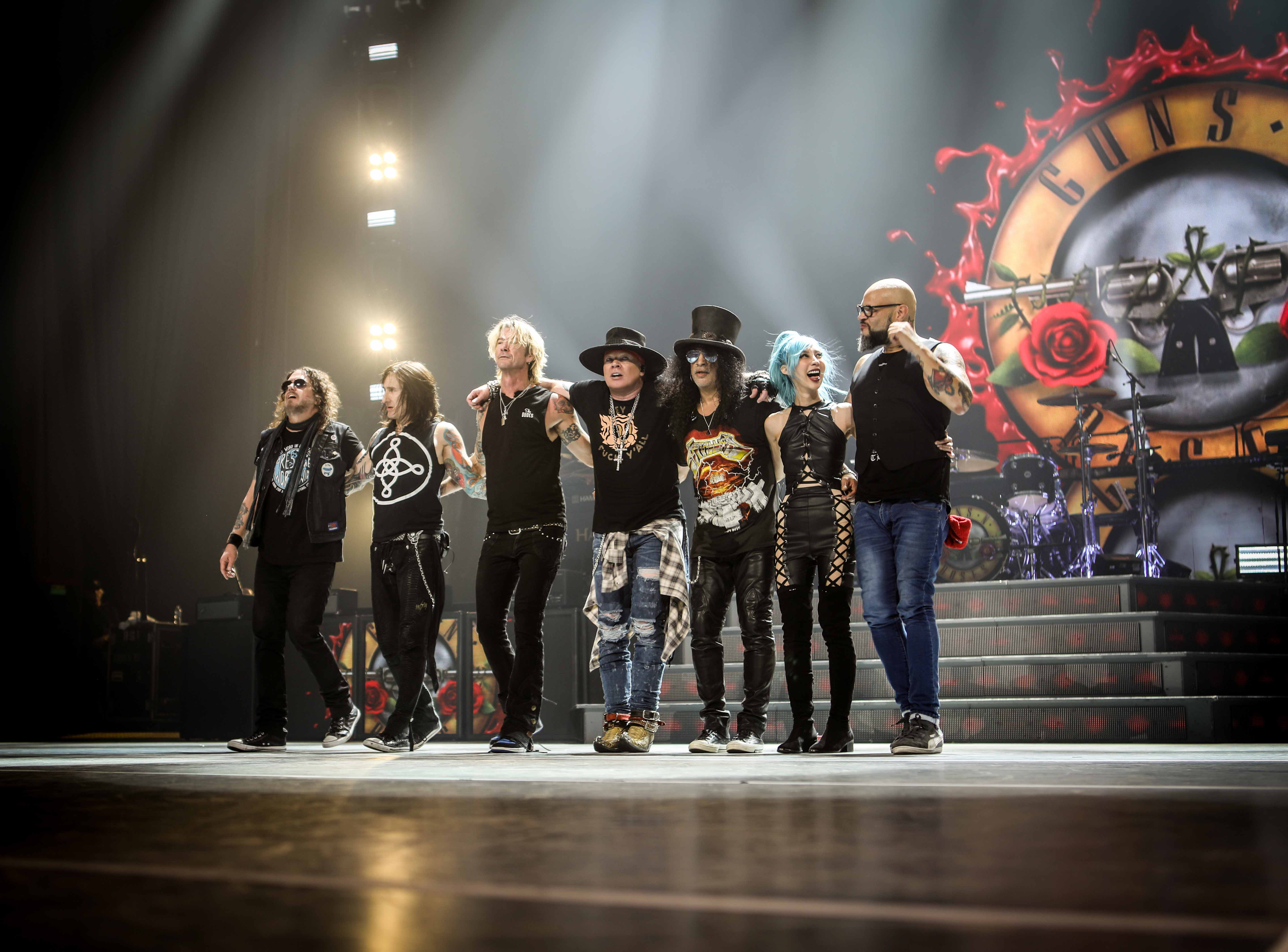 Guns 'N' Roses announce Dublin show at Marlay Park