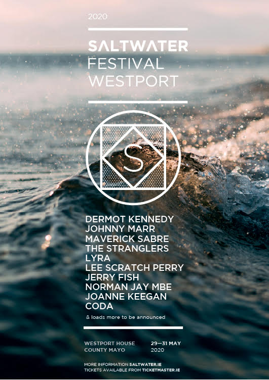 Dermot Kennedy, Johnny Marr, Lyra & more announced for the brand new Saltwater Festival in Westport