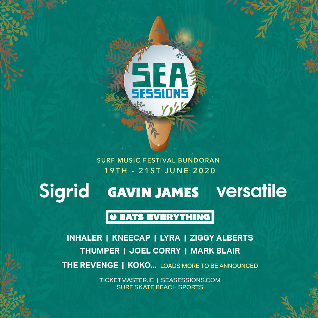 Sea Sessions 2020 announce Sigrid, Gavin James & more