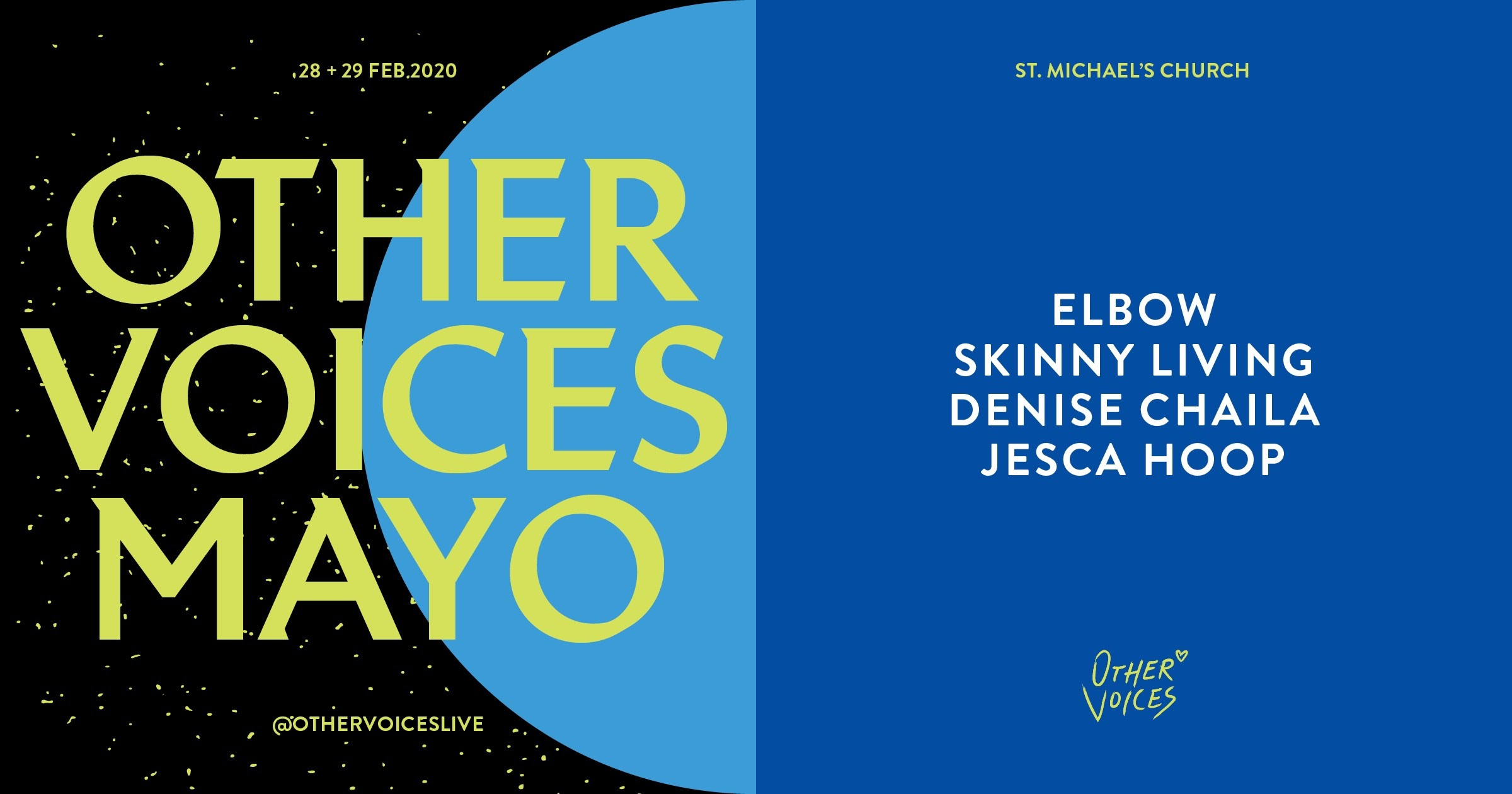 Elbow, Denise Chaila & more announced for Other Voices Ballina 2020