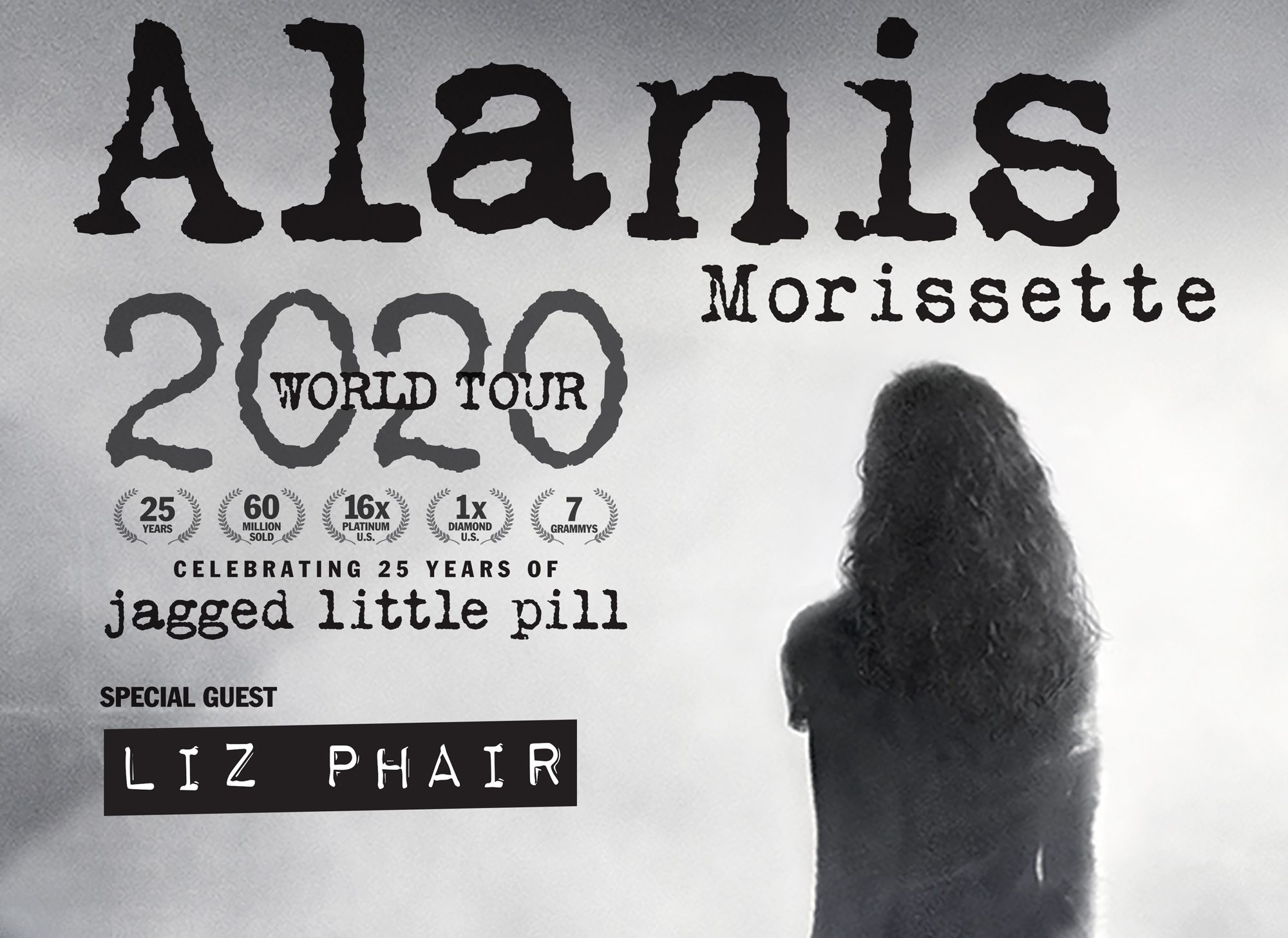 Alanis Morissette announces Dublin show at 3Arena as part of 2020 European Tour